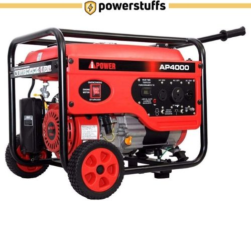 A-iPower AP4000 4000 Watt Manual Start Generator