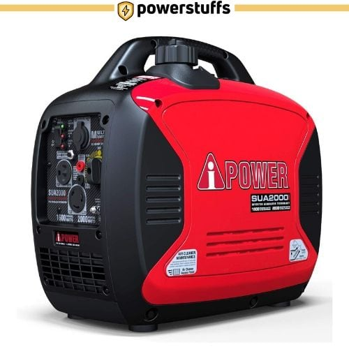 A-iPower SUA2000iV Super Quiet Inverter Generator