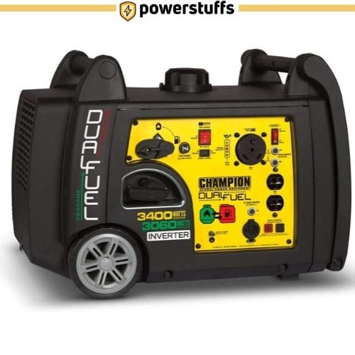 Champion 3400-Watt Dual Fuel Portable Inverter Generator
