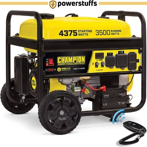 Champion 3500-Watt Portable RV Ready Generator
