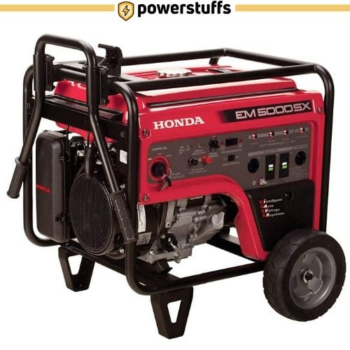 HONDA EM5000S Electric Start Generator Review