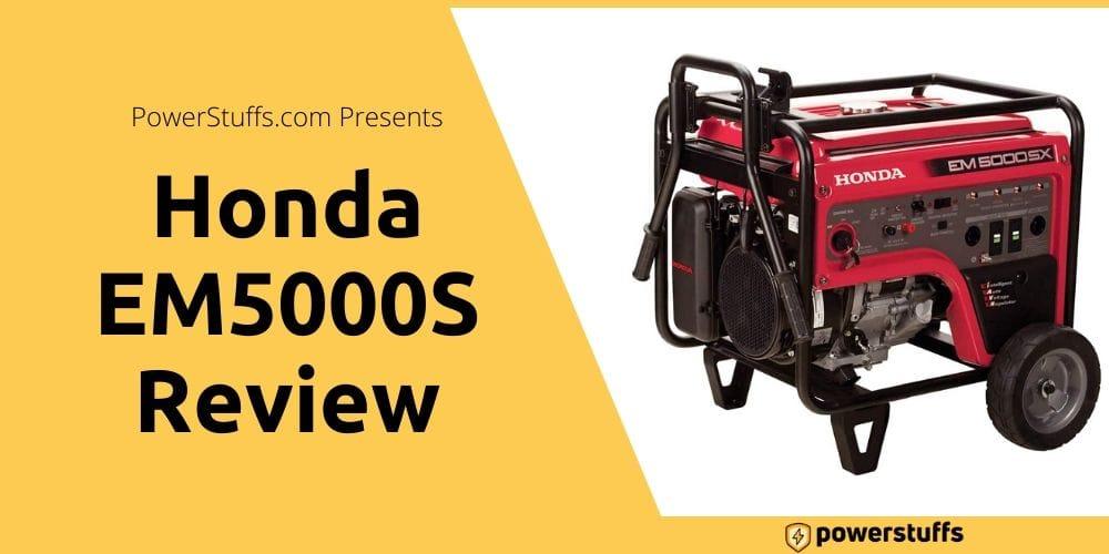 Honda EM5000S Review