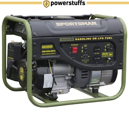 Sportsman GEN2000DF Dual Fuel Powered Portable Generator