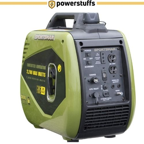 Sportsman GEN2200DFI Dual Fuel Inverter Generator for Sensitive Electronics