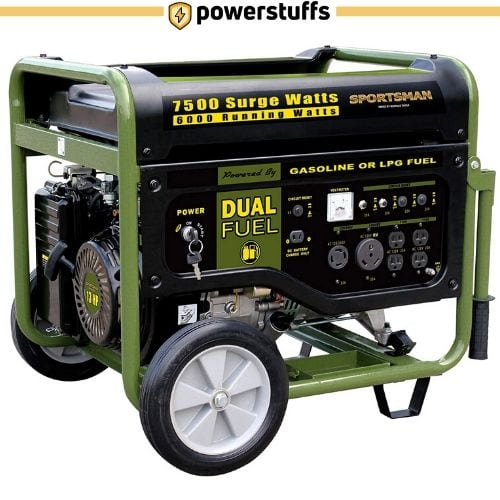 Sportsman GEN7500DF Dual Fuel Electric Start Generator
