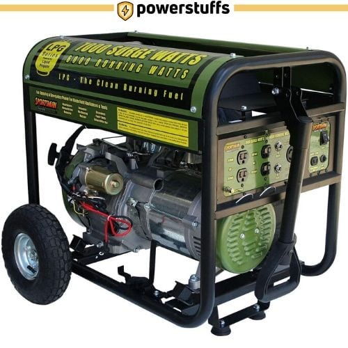 Sportsman GEN7000LP Propane Powered Portable Generator