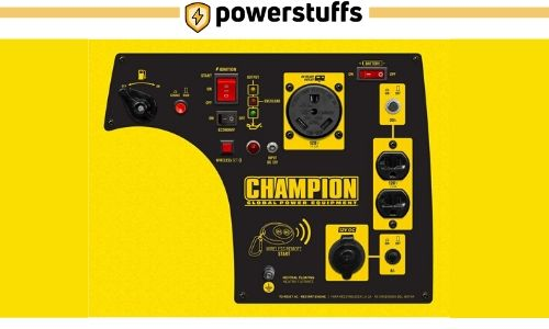 Champion 3100-Watt Inverter Generator Outlet Review