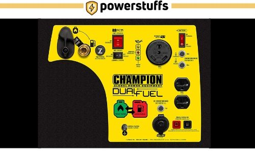 Champion 3400-Watt Generator Outlet Review