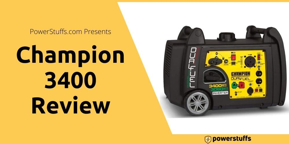 champion 3400 watt dual fuel inverter generator review
