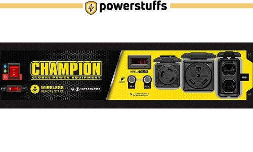 Champion 3500 Watt Generator Outlet Review