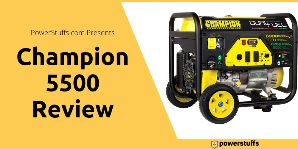 Champion 5500 Watt Generator Reviews