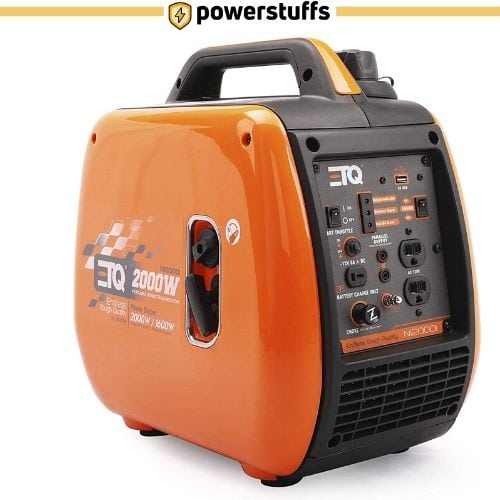 ETQ NI2000i - Portable Gas-Powered Quiet Generator
