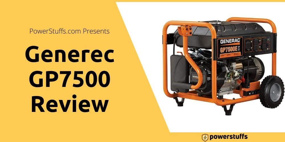 Generac GP7500 Reviews
