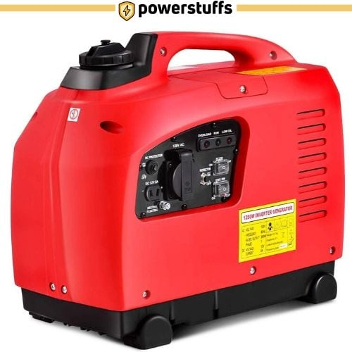 Goplus 1250 Watt Gas-Powered Inverter Generator