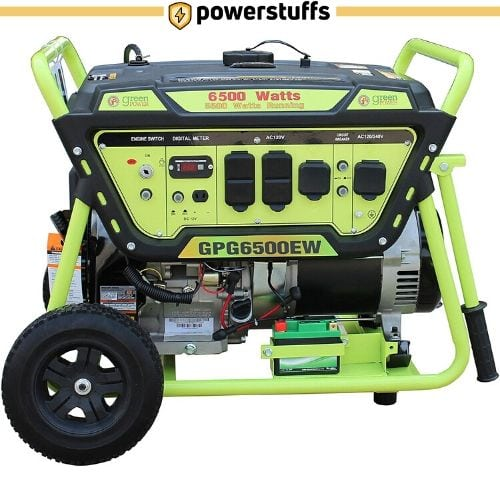 Green-Power America GPG6500EW Electric Start Generator