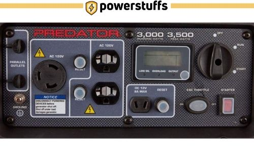Predator 3500 Watt Inverter Generator Outlet Review