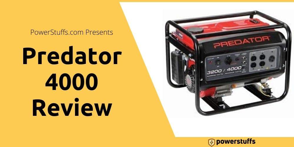 Predator 4000 Generator Review