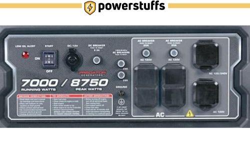 Predator 8750 Watt Generator Outlet Reviews