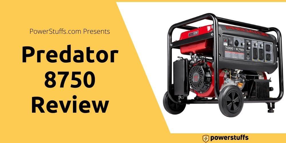 Predator Generator 8750 Reviews
