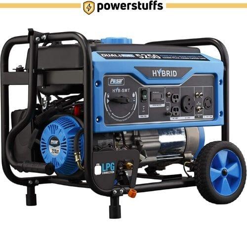 Pulsar PG5250B - 5,250 Watt Dual Fuel Portable Generator