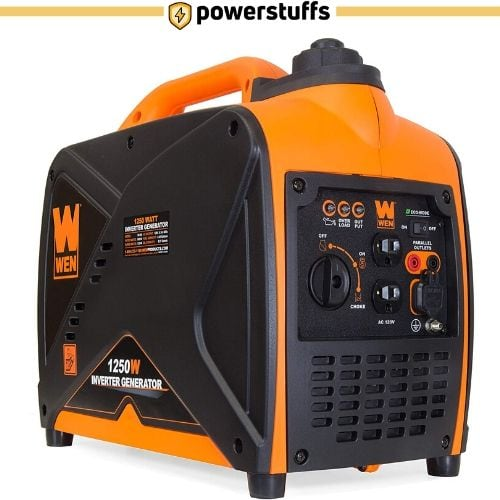 WEN 56125i Super Quiet 1250-Watt Portable Inverter Generator