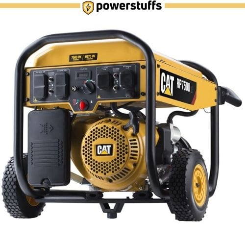 Cat RP7500E Gas Powered Portable Generator with Electric Start