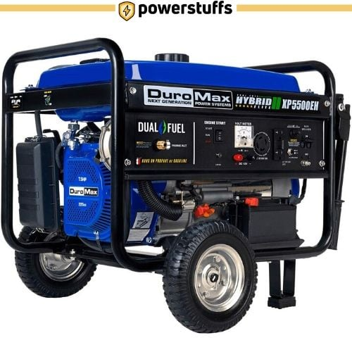 Duromax XP5500EH Dual Fuel Portable Generator Review