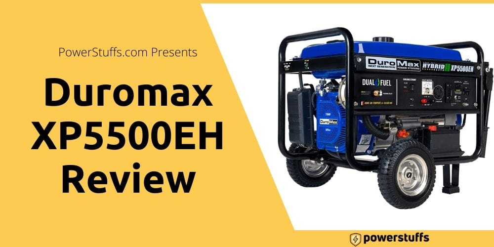 Duromax XP5500EH Review