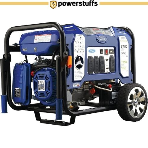 The Ford FG7750PBE Dual Fuel Portable Generator
