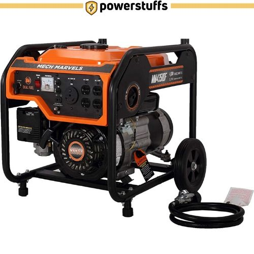 Mech Marvels MM4350DF Dual Fuel Portable Generator