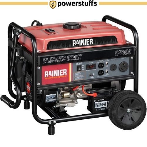 Rainier R4400 Portable Generator with Electric Start