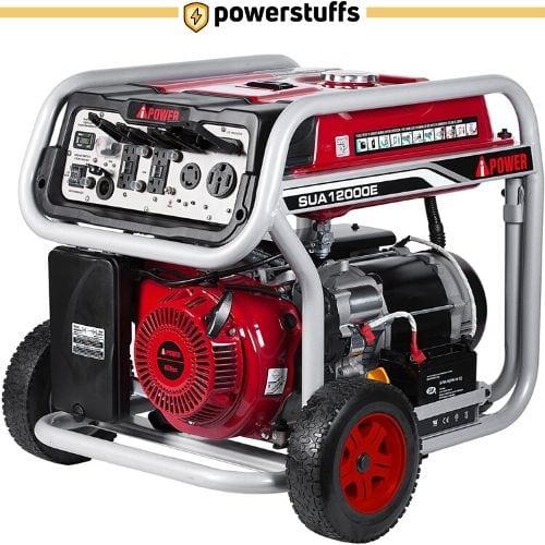 A-iPower SUA12000E Gasoline Powered Generator