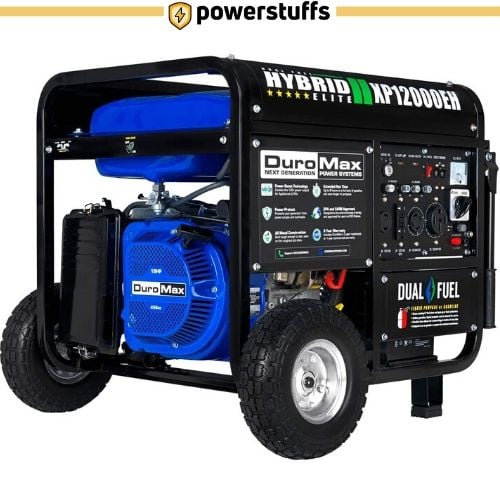 DuroMax XP12000EH Dual Fuel Portable Generator Review