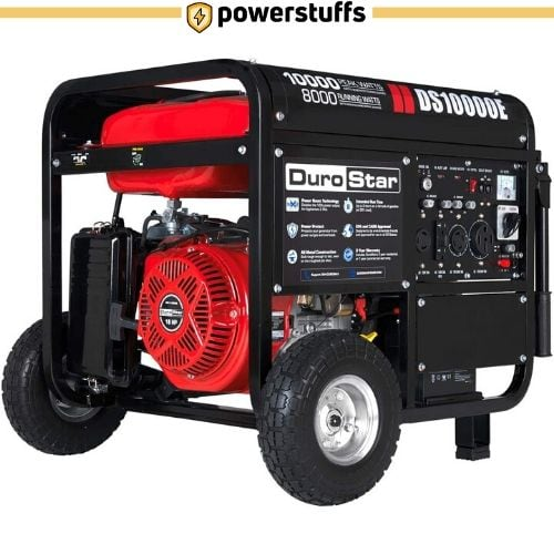 Durostar DS10000E Gas Powered Electric Start Portable Generator