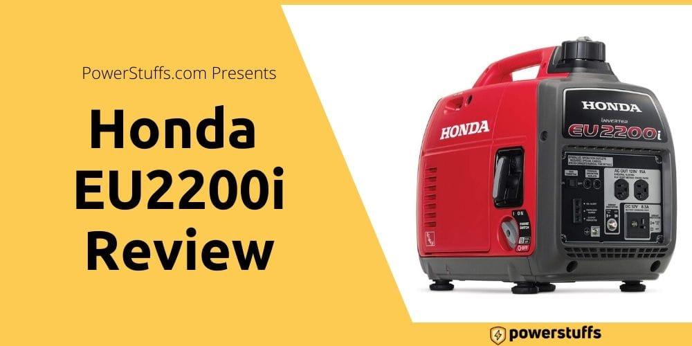 Honda EU2200i Review