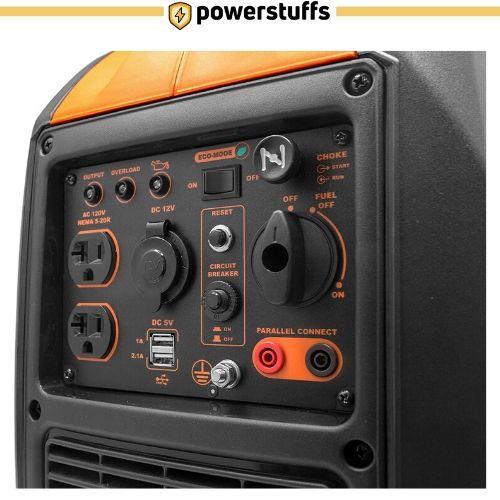WEN 2000-Watt Portable Inverter Generator Outlet Review