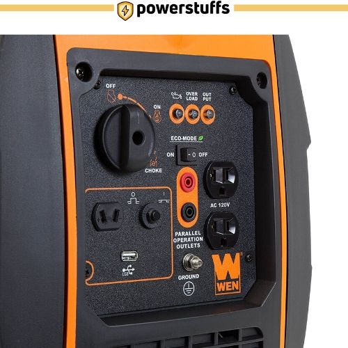 WEN 2000-Watt Portable Inverter Generator Outlet Review