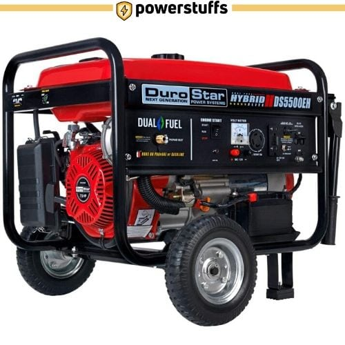 Durostar DS5500EH Dual Fuel Electric Start Portabl Generator