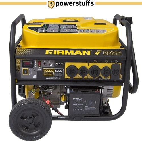 Firman P08003 10000 Watt Remote Start Gas Portable Generator