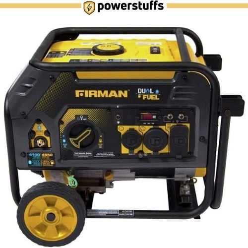 Firman H03652 Dual Fuel Portable Generator with Wheel Kit