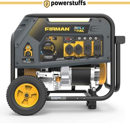 Firman H05752 7125 Watt Dual Fuel Portable Generator
