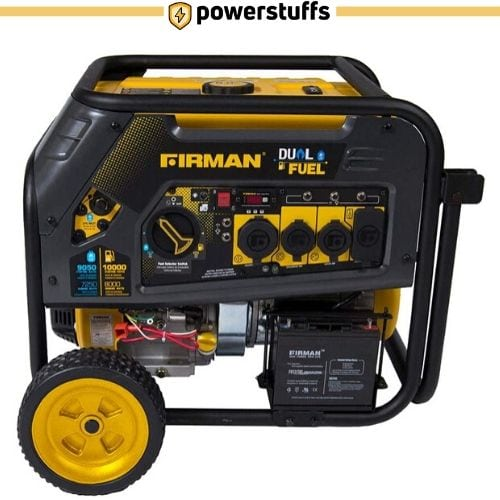 Firman H08051 Electric Start Dual Fuel Portable Generator