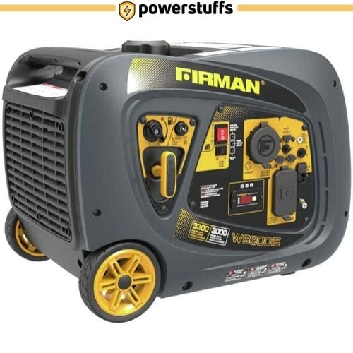 Firman W03082 3300 Watt Electric Start Gas Portable Generator