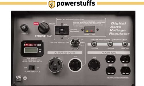 HONDA EB10000 Generator Outlet Review