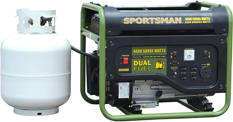 Sportsman GEN4000DF - Both Gas & LPG Powered Portable Generator