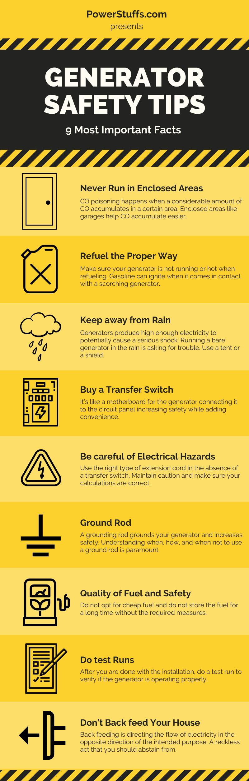 Make Generator Safe
