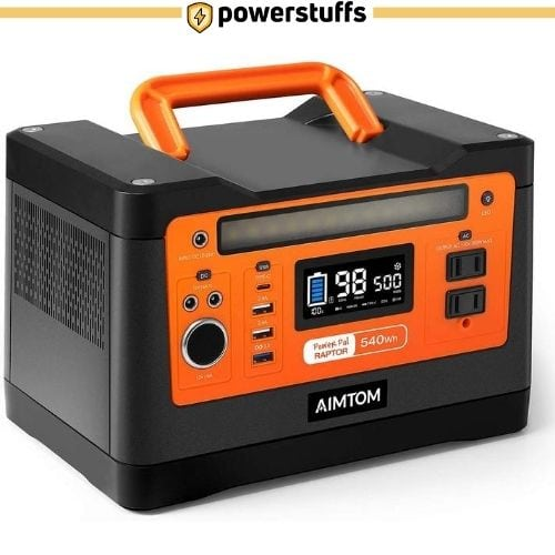 AIMTOM 540Wh Portable Solar Power Generator