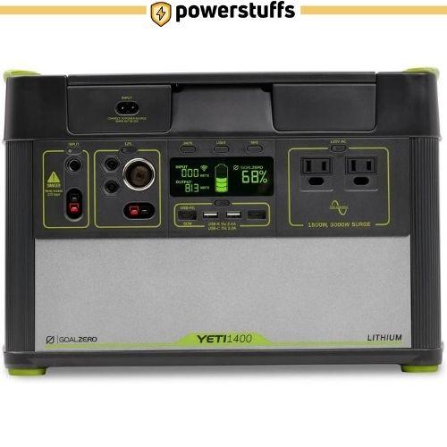 Goal Zero Yeti 1400 Lithium Portable Solar Generator