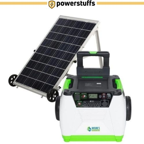 Nature's Generator - 1800W Solar & Wind Powered Generator