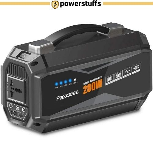 PAXCESS 280W Portable Solar Generator
